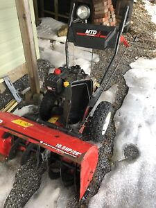 MTD Yardmachine snow blower