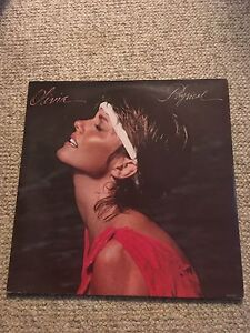 "Olivia newton john ""physical"" vinyl lp original."
