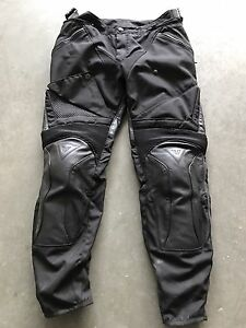 Dainese Leather Motorcycle Pants Size 50