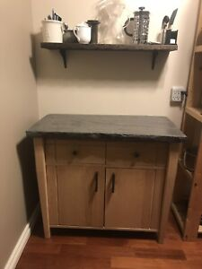 Accent cabinet/console table