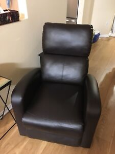 2 reclining chairs $200