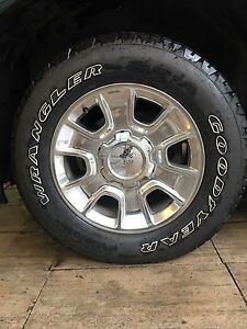 Sierra / Chevy rims and tires