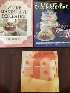 Various cookbooks - desserts, cake decorating etc.