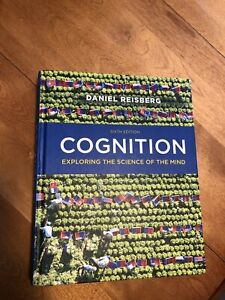 Cognition - Exploring the science of the mind - 6th Edition