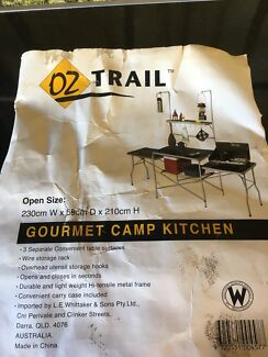 Oztrail gourmet camp kitchen table