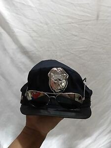 Police hat and sunglasses custome