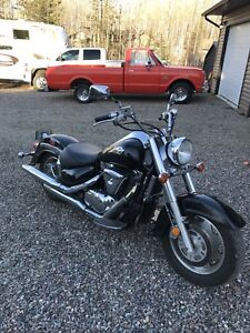 No time to ride - 1500 Intruder to sell or trade