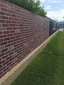 Brick fence / Boundary Walls
