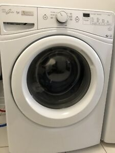 WHIRLPOOL WASHER & DRYER (USED) Stackable