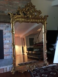 Huge full size mirror