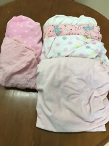 Crib Sheets and Change Pad Covers