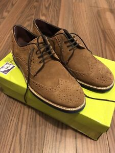 Ted baker brown suede shoes never work