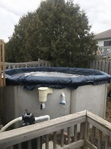 12 FOOT  ABOVE GROUND ROUND POOL