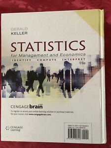 Statistics for management and economics, 11th edition