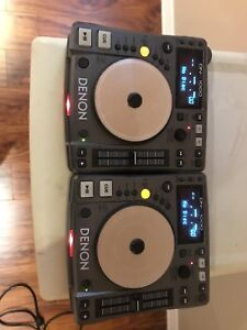 Denon DJ  CD turntables
