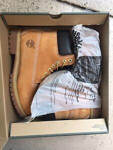 **BRAND NEW, NEVER BEEN WORN BEFORE** men's timberlands US 9 Brisbane City Brisbane North West Preview