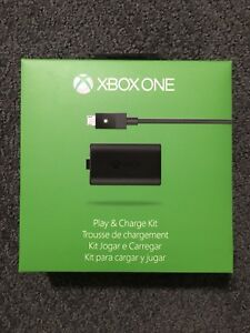 NEW Xbox One Play & Charge Kit Controller