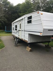 2002 Jayco qwest 265b fifth wheel
