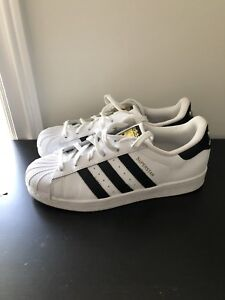 Adidas Superstars - men's size 8 / women's size 9.5