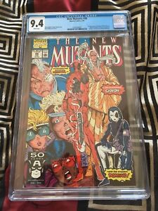 New Mutants 98: Deadpool's 1st Appearance! CGC 9.4