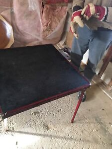 Free card table