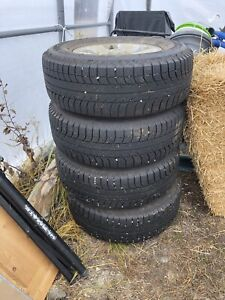 265/70R17 Tires and Rims set