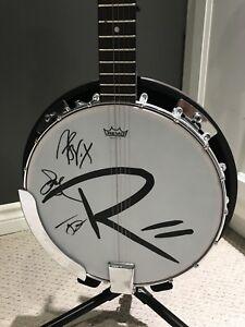 Rascal Flatts Signed Banjo
