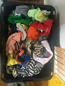 Large tote full of newborn - 6 month clothes