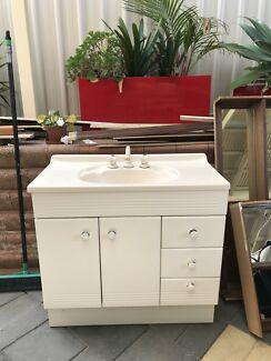 bathroom vanity plus mirror cabinet