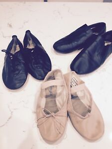 Dance shoes; ballet & jazz