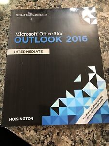 Brand new!!! Microsoft Office 365 Outlook 2016 book