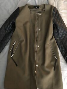 H&M spring/fall trench coat women size 4
