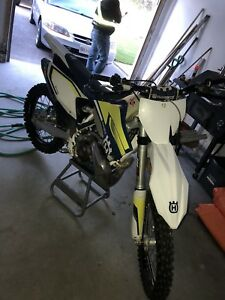 TC 250 HUSKY FORSALE !! Never raced trail ridden lots of parts