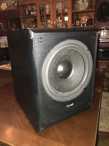 Powered subwoofer great working condition