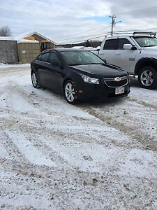 2012 chevy cruze lt 1.4 turbo 6speed manuel