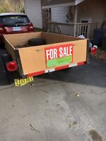 Utility trailer in excellent condition  (Reduced)
