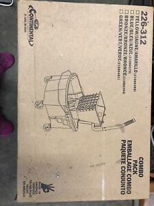 BNIB Industial combo bucket and squeegee