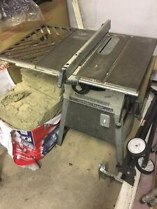 "Rockwell/Beaver 9"" Table Saw"