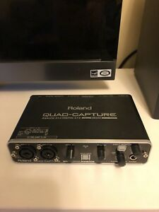 Roland Quad Capture - Interface