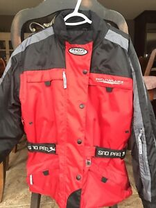 Snowmobile suit, women size L (will fit size 6-10)
