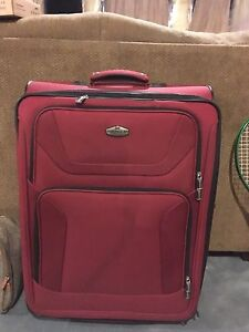 Large suitcase used one trip,