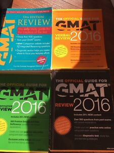 GMAT 2016 Official Guides - Not marked up