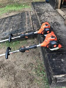 Echo straight trimmers excellent condition.