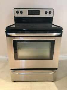 Stainless Steel Stove by Frigidaire