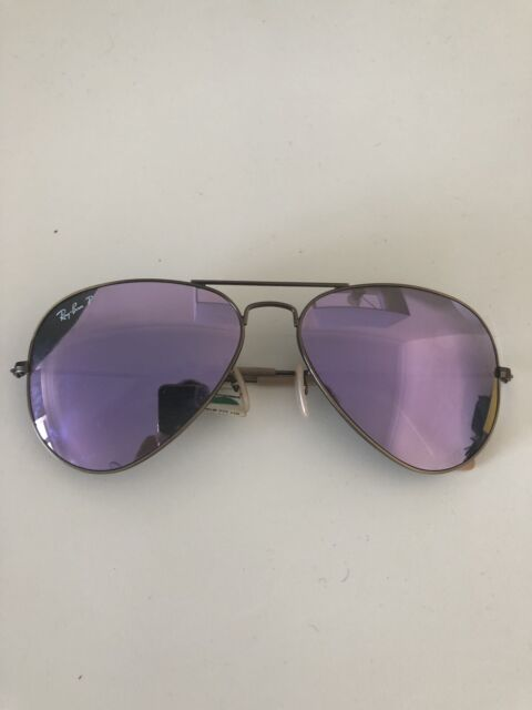 90a60b47d7a Ray ban aviator Polarized sunglasses Brand new