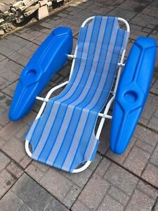 Chaise flottante