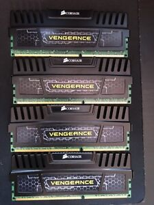 16gb Corsair ram 4x4gb 1600mhz