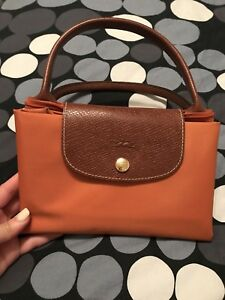Sac pliage Longchamp Orange (Taille M)