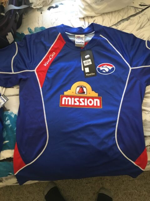 f3639a1af Bulk AFL western Bulldogs training singlet shirt jumper