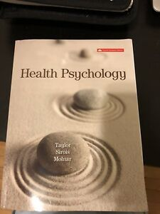 Health Psychology 4th Canadian Edition